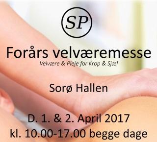 Kom og oplev Helsemessen i Sorø 1 & 2. april
