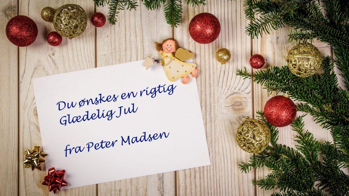 Du ønskes en Glædelig Jul